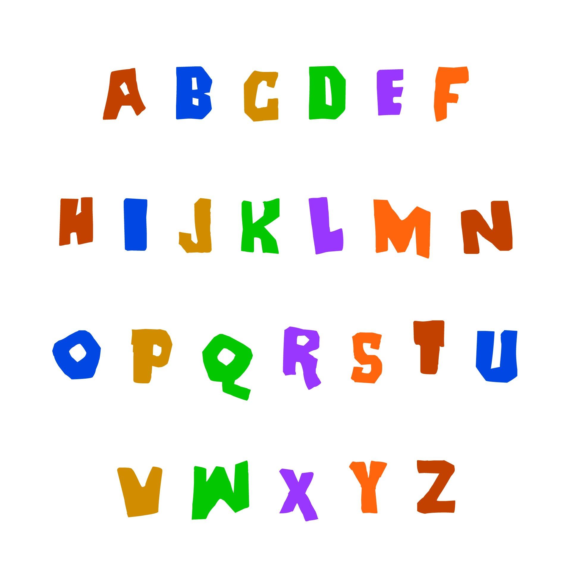 Printable Letter Stencils Designs