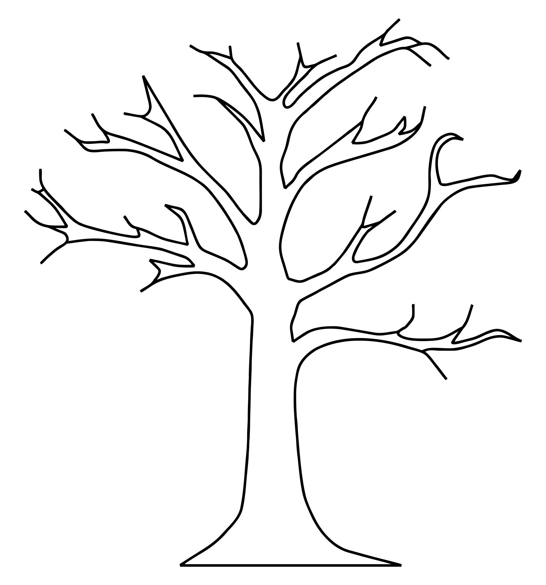 Tree Trunk Pattern Printable