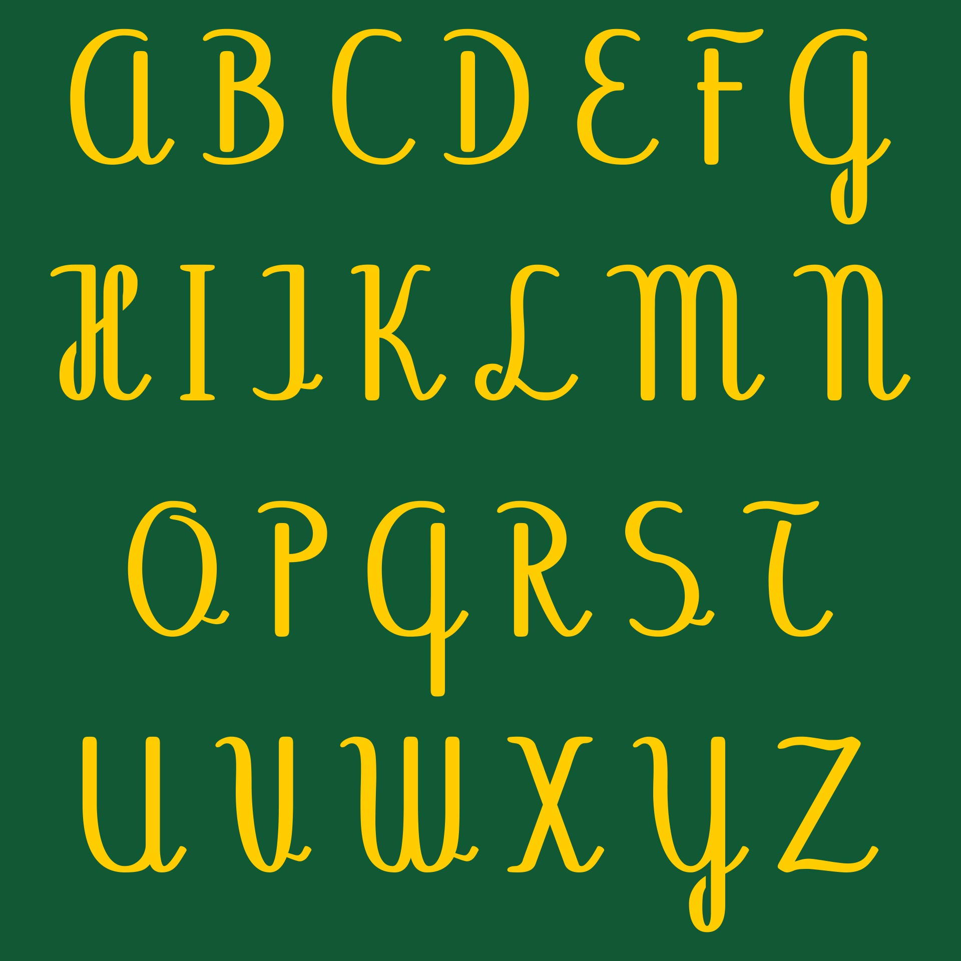 Fonts Alphabet  Printable