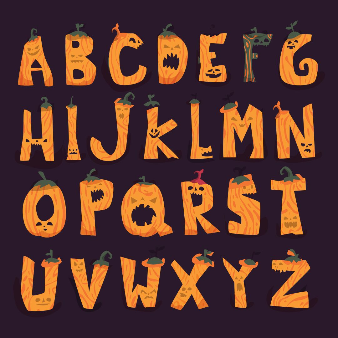 Printable Halloween Letters