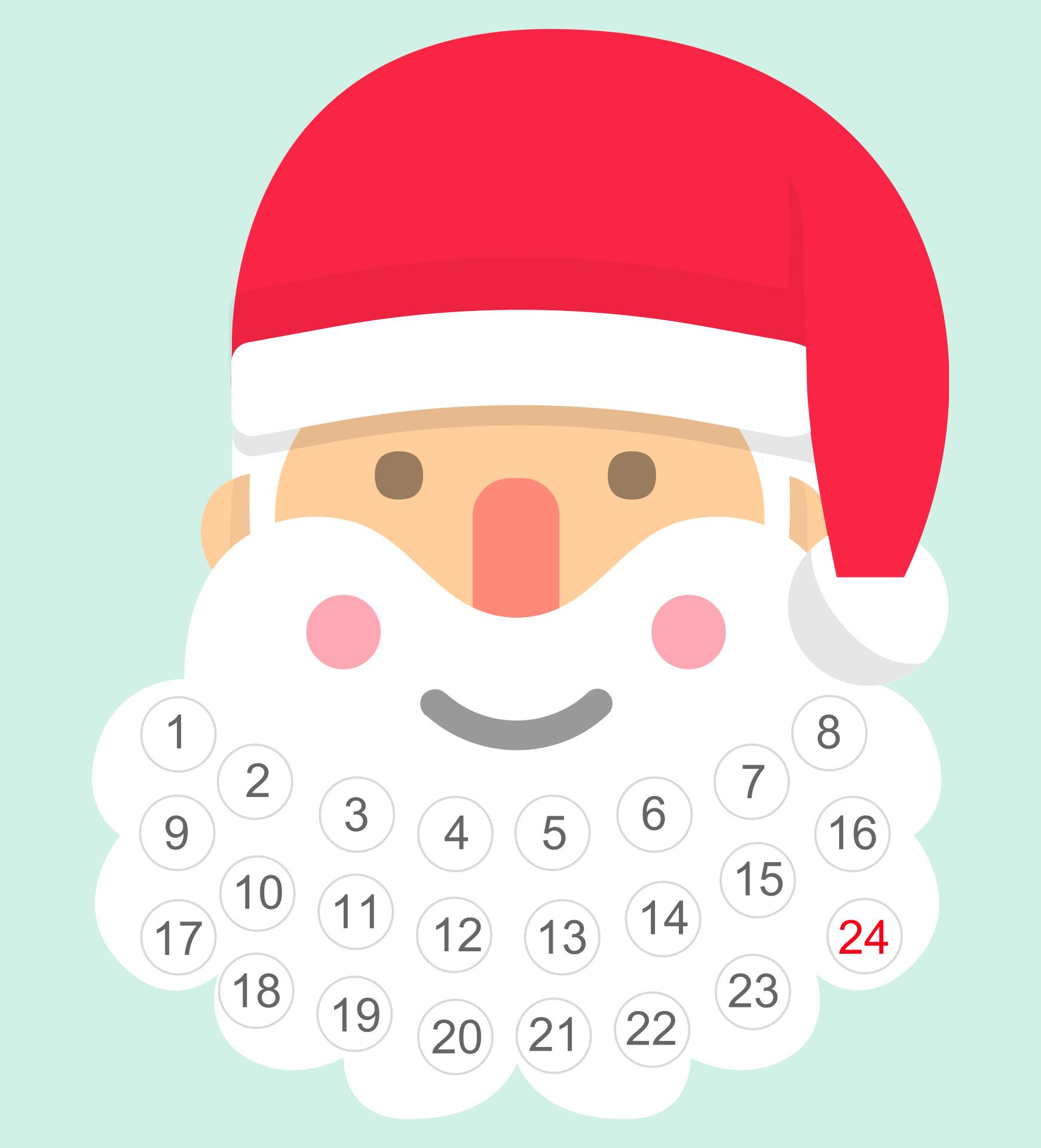 Printable Christmas Countdown Activities