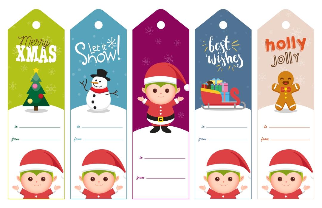 Funny Printable Christmas Tags