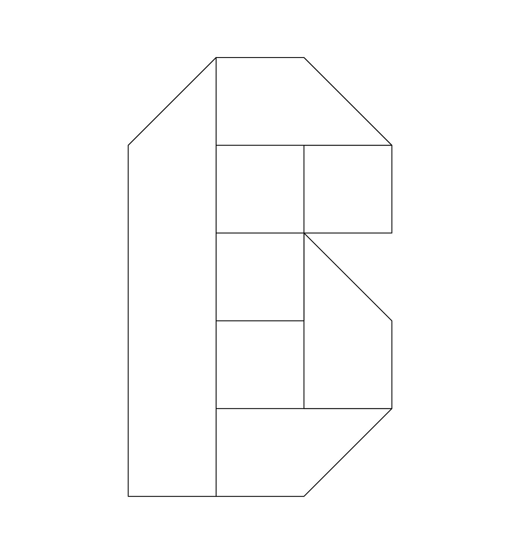 4 Inch Alphabet Stencils Printable