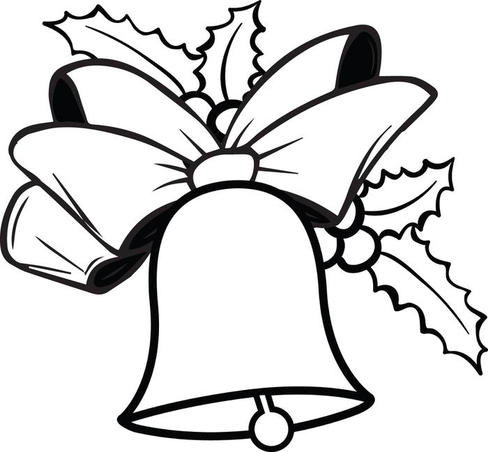 Christmas Bells Printable Coloring Pages