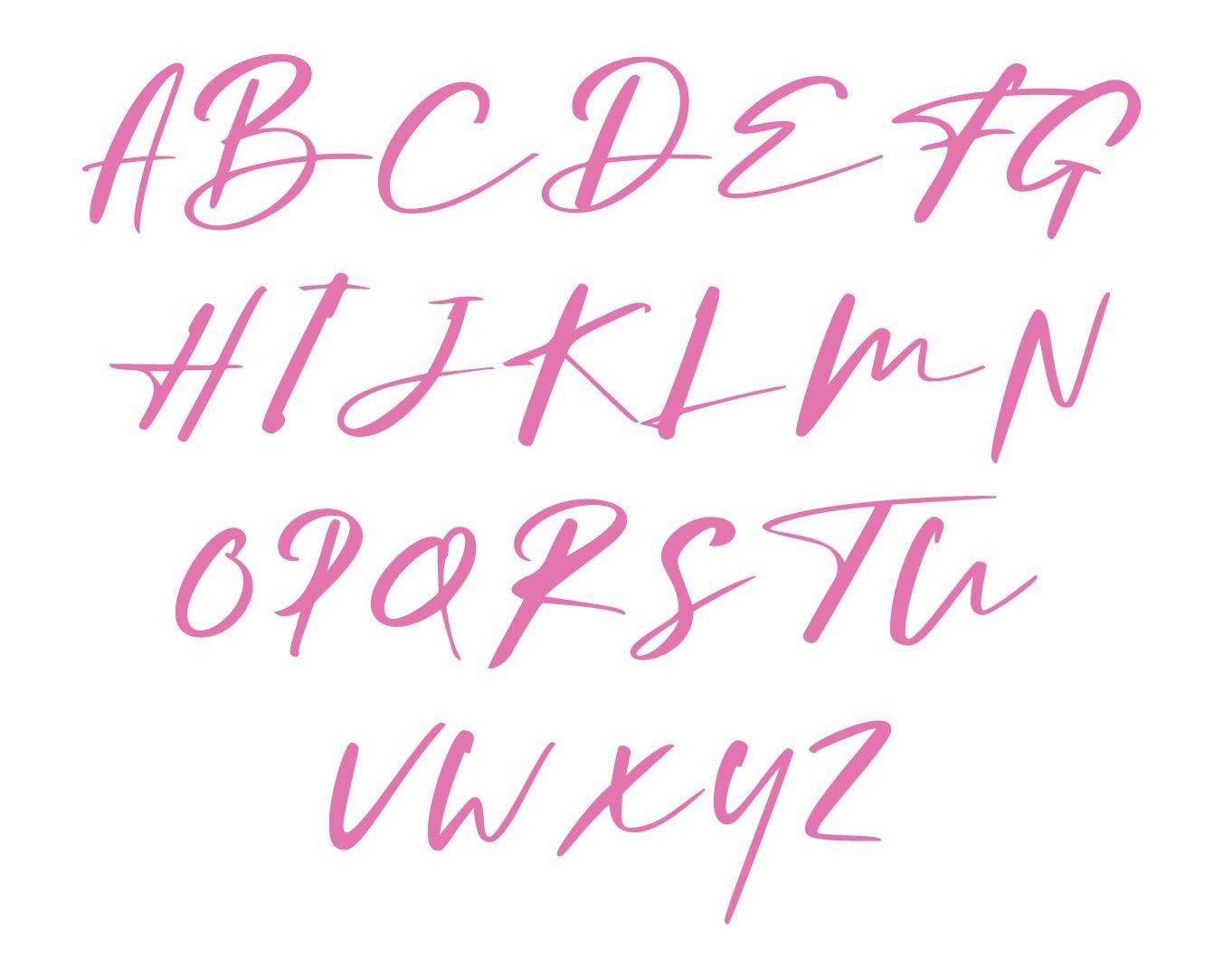 Vintage Alphabet Letter Printables