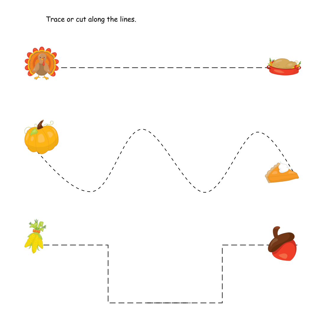 Printable Preschool Thanksgiving Crafts