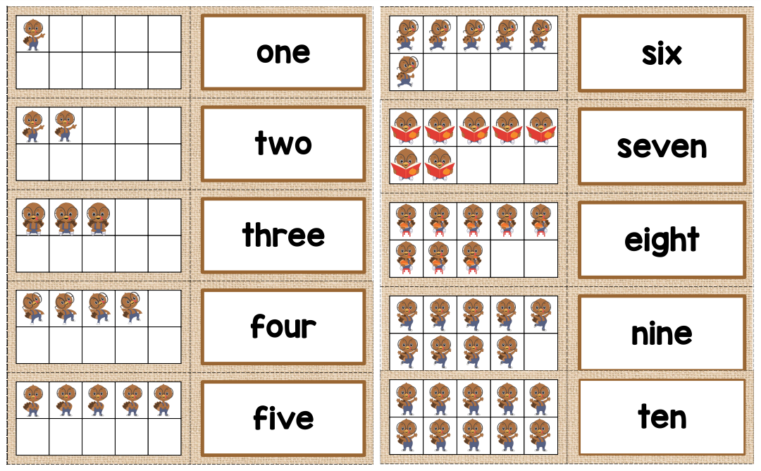 Printable Thanksgiving Worksheets & Puzzles
