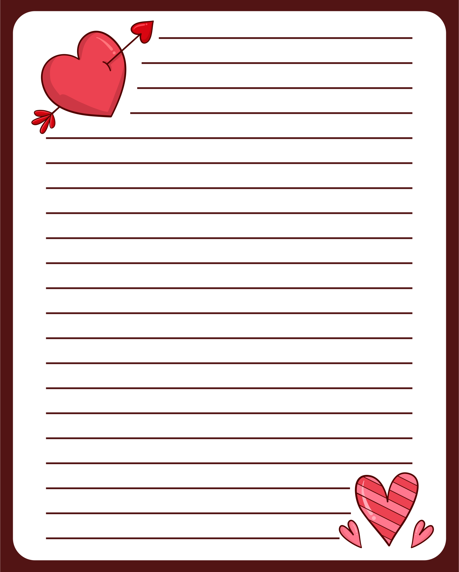 Letter Writing Paper Printable