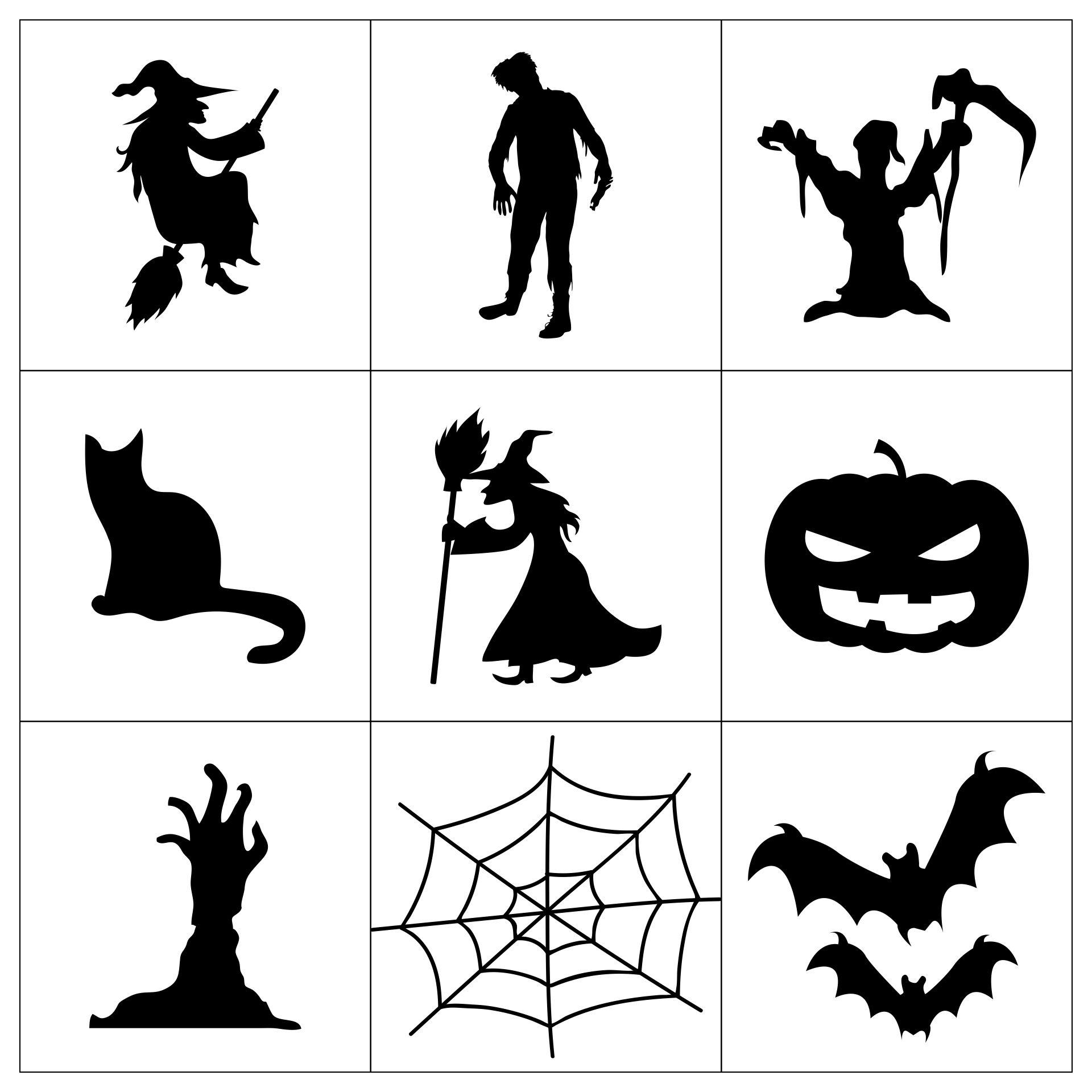 Printable Halloween Templates