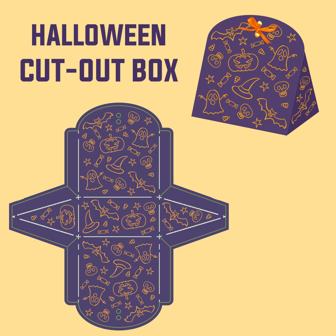 Halloween Printable Gift Boxes