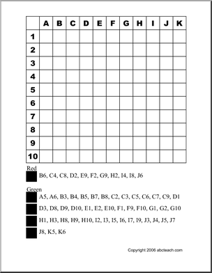 halloween grid coloring pages - photo#12