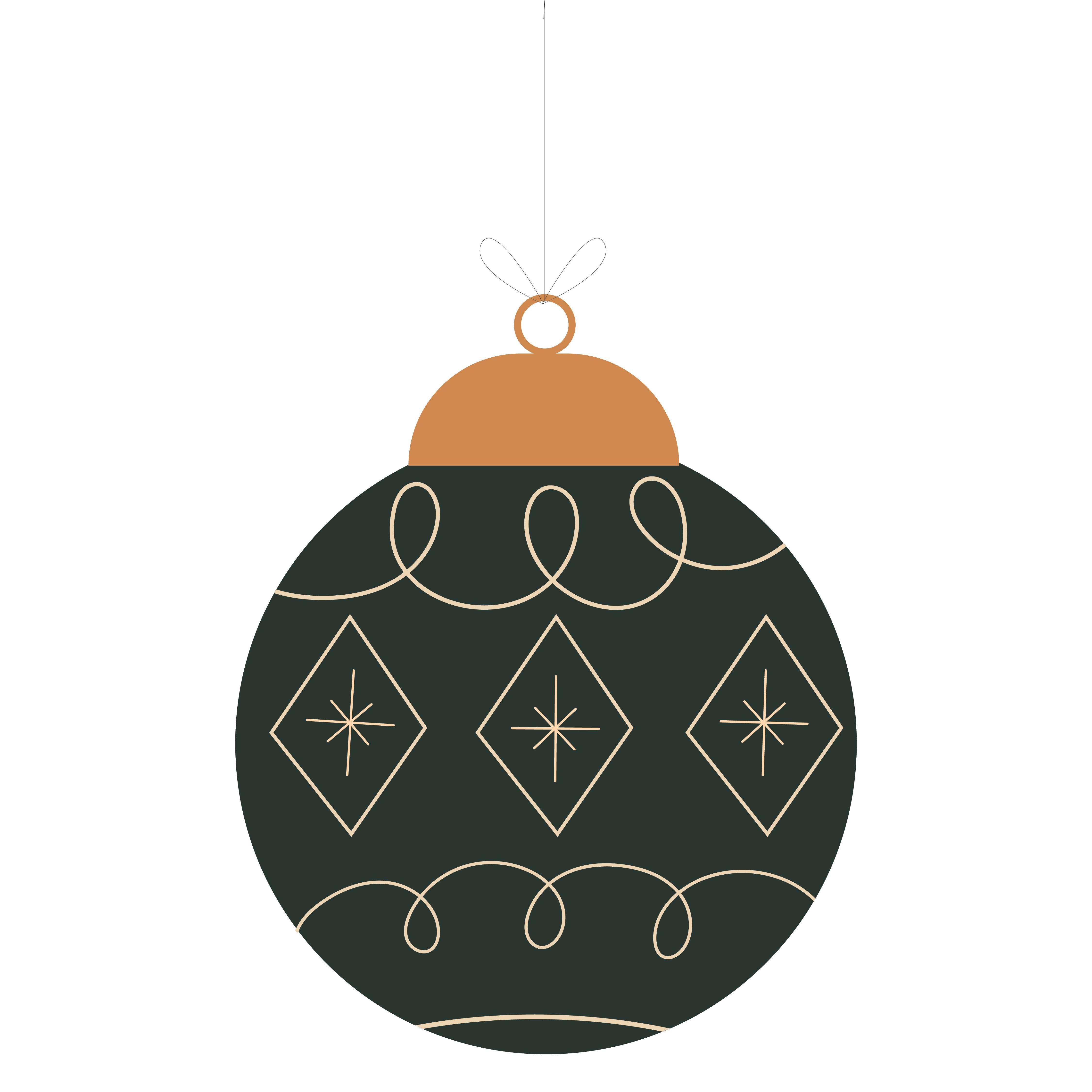 Christmas Ornament Stencils Printable