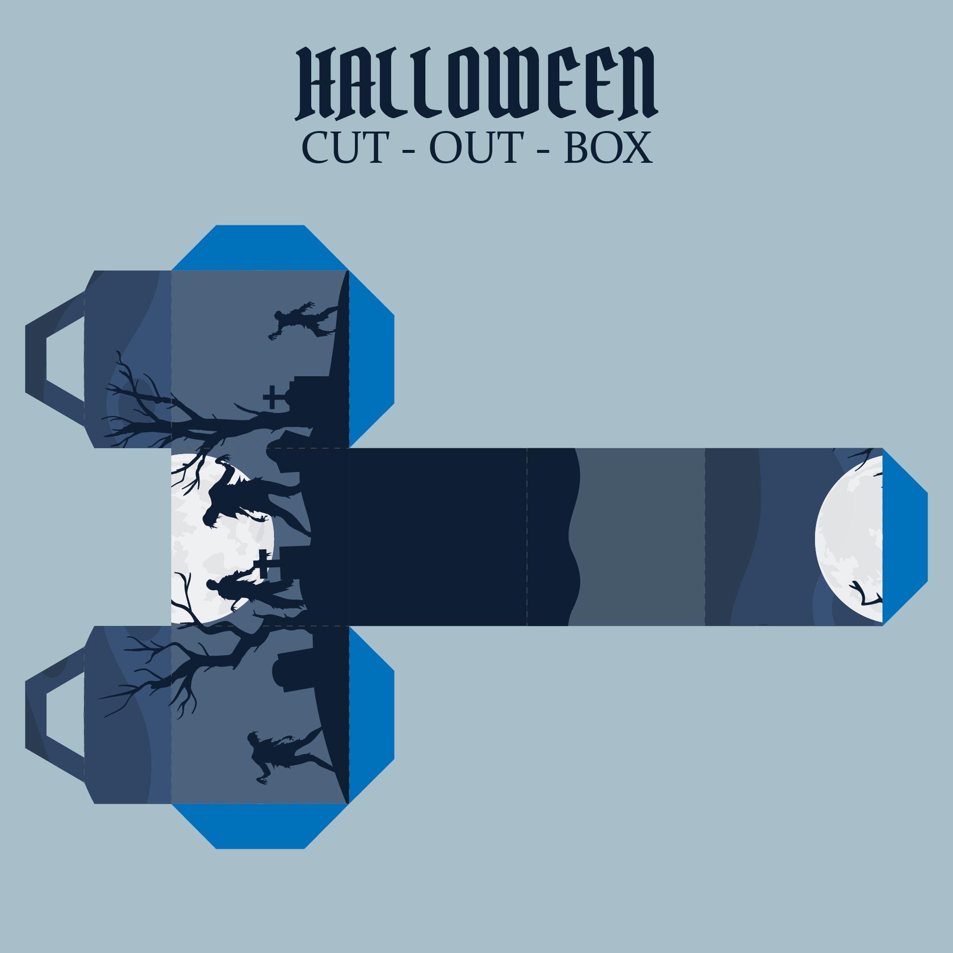 Printable Halloween Boxes