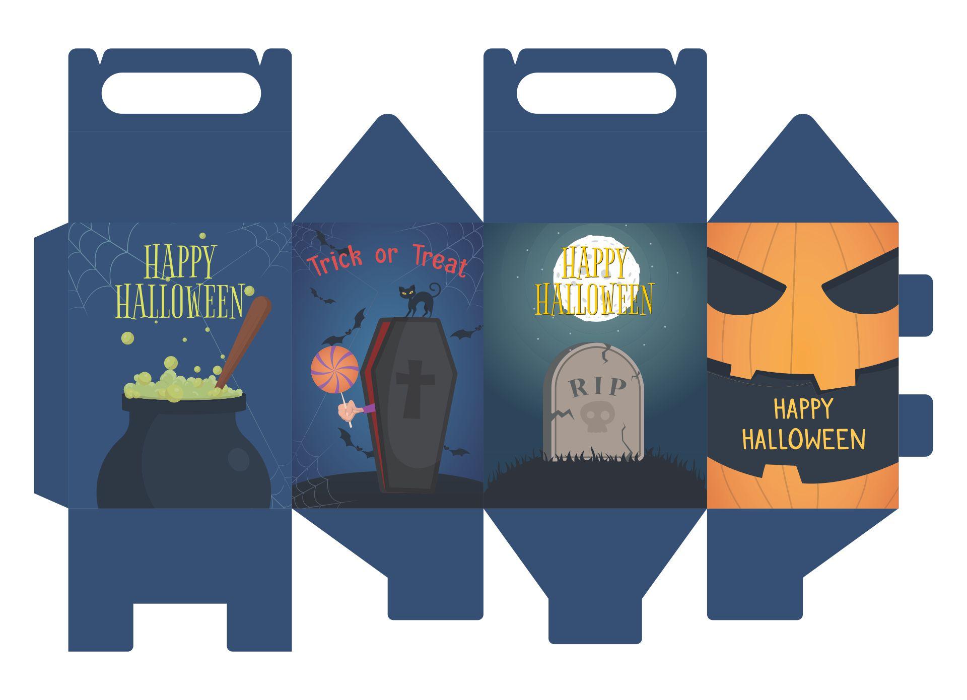 Halloween Bag Printables