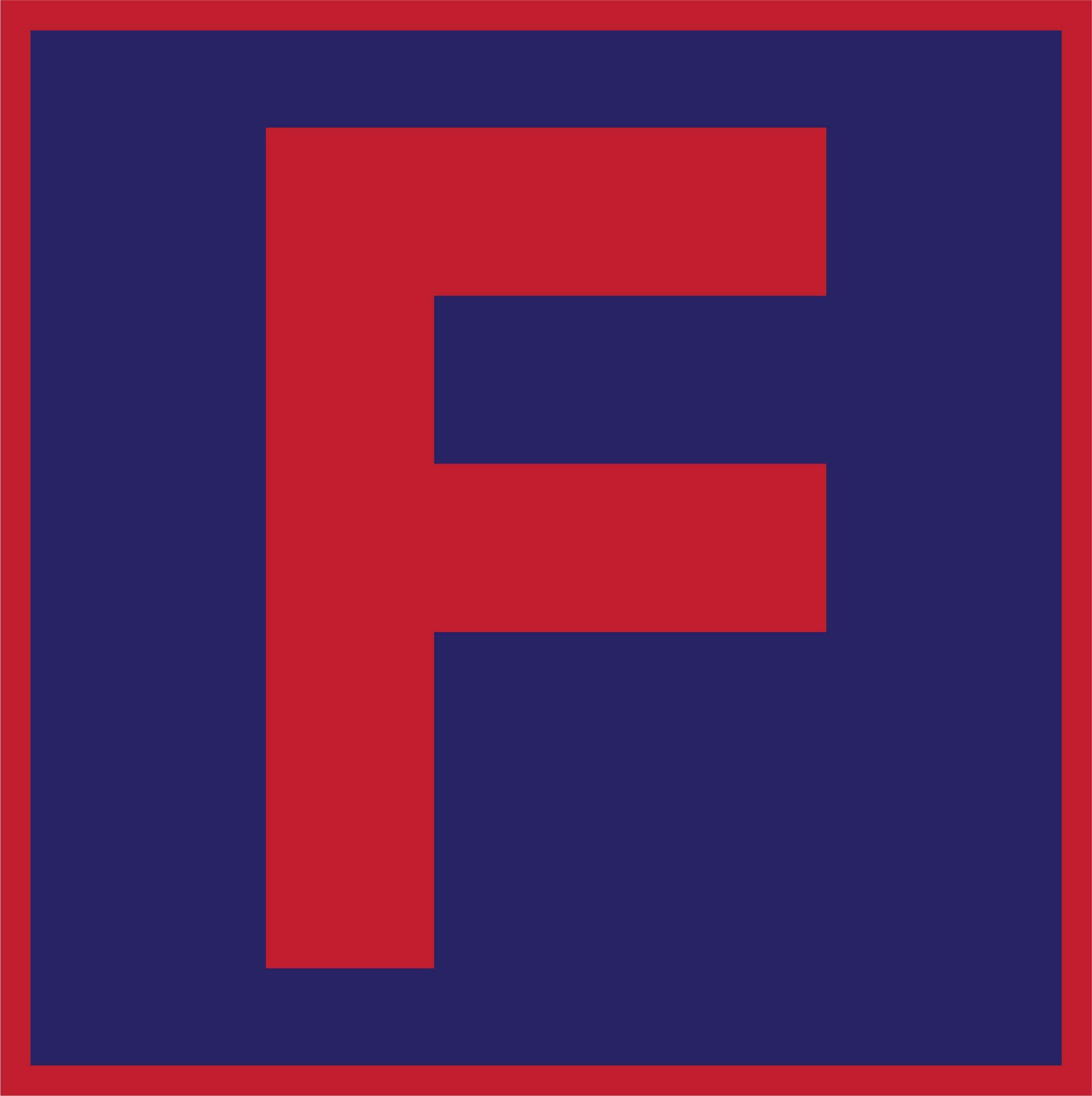 Letter F Printable Template