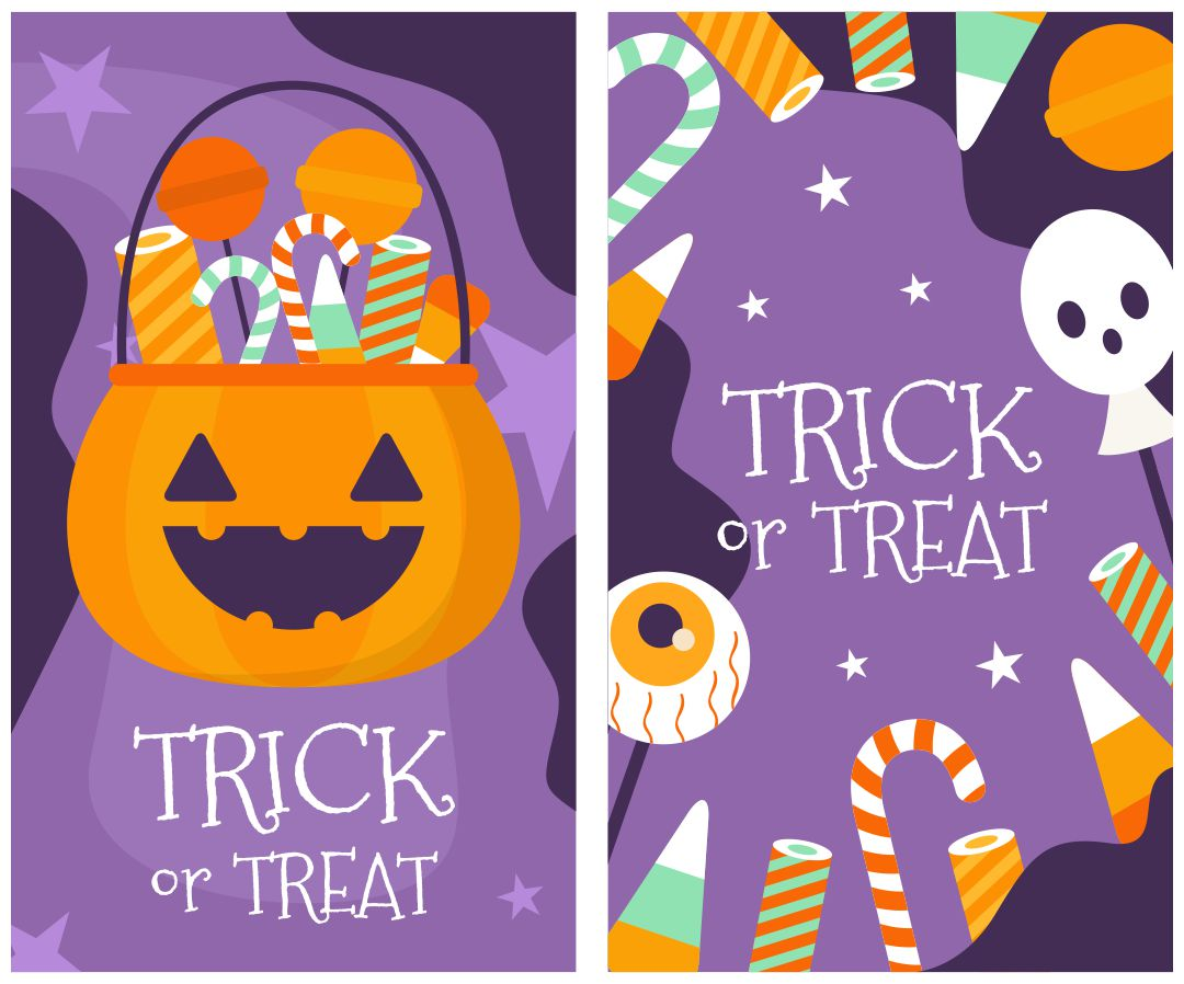 Halloween Treat Tags  Printable