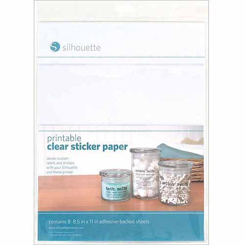 Printable 8.5 X 11 Sticker