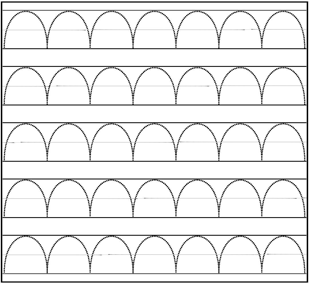 Printable Tracing Lines