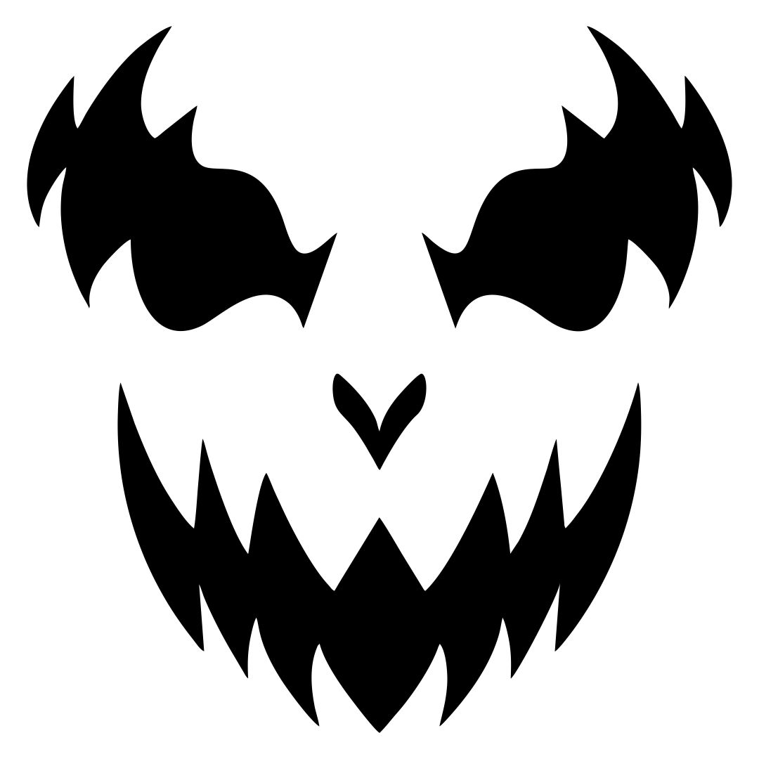 7 Best Printable Scary Halloween Faces - printablee.com