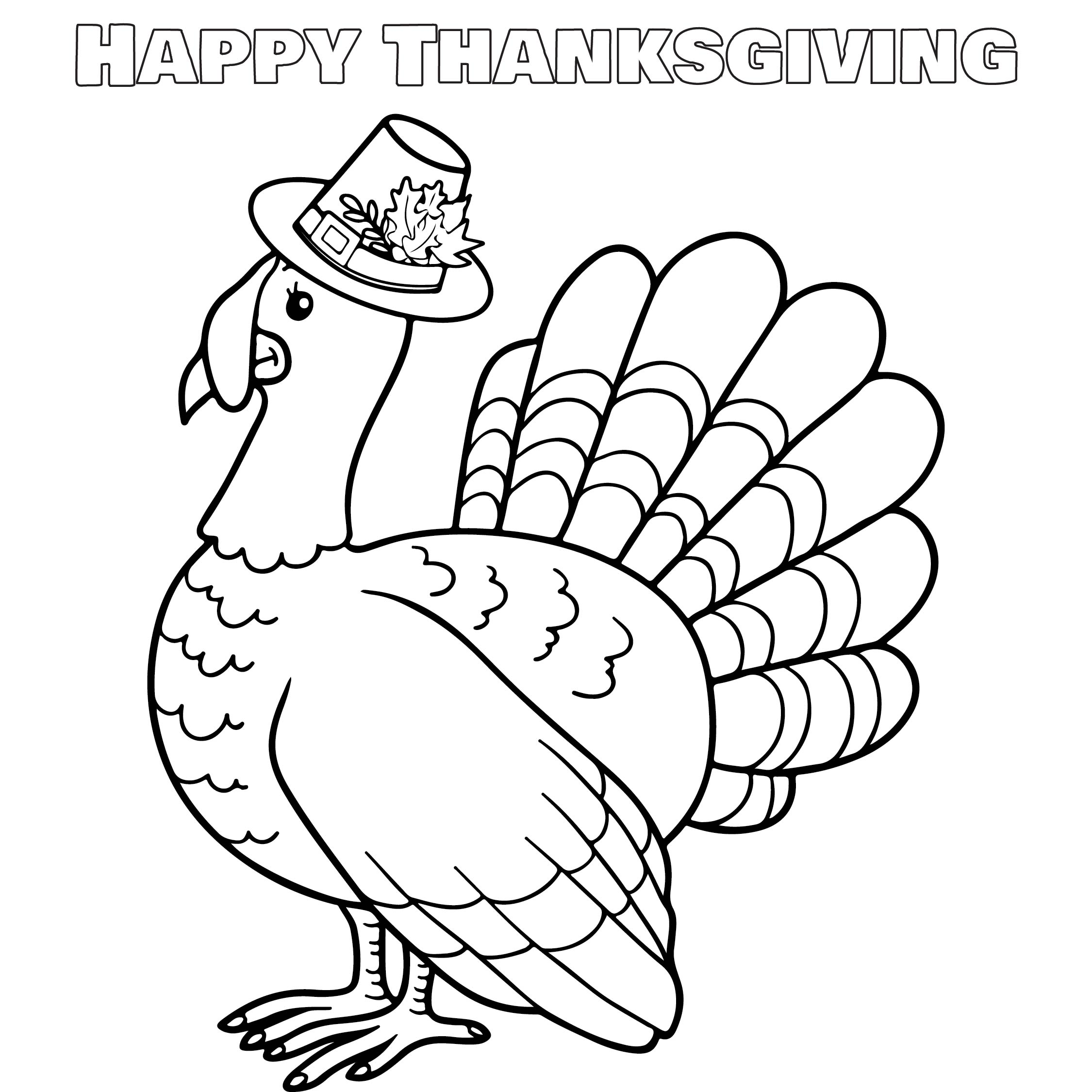 Preschool Printable Thanksgiving Turkeys