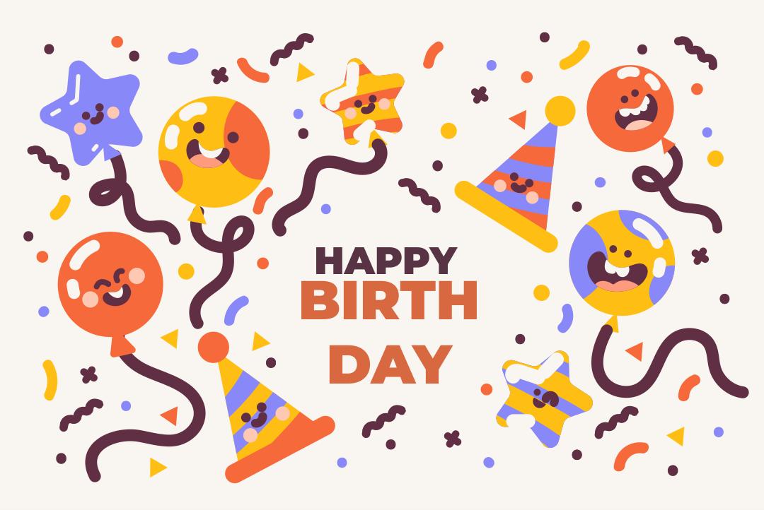 6 Best Printable Folding Birthday Cards Printablee Com