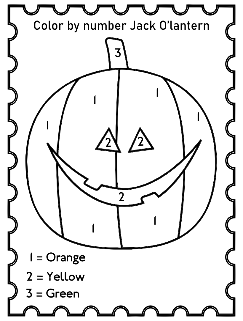 Printable Halloween Worksheets
