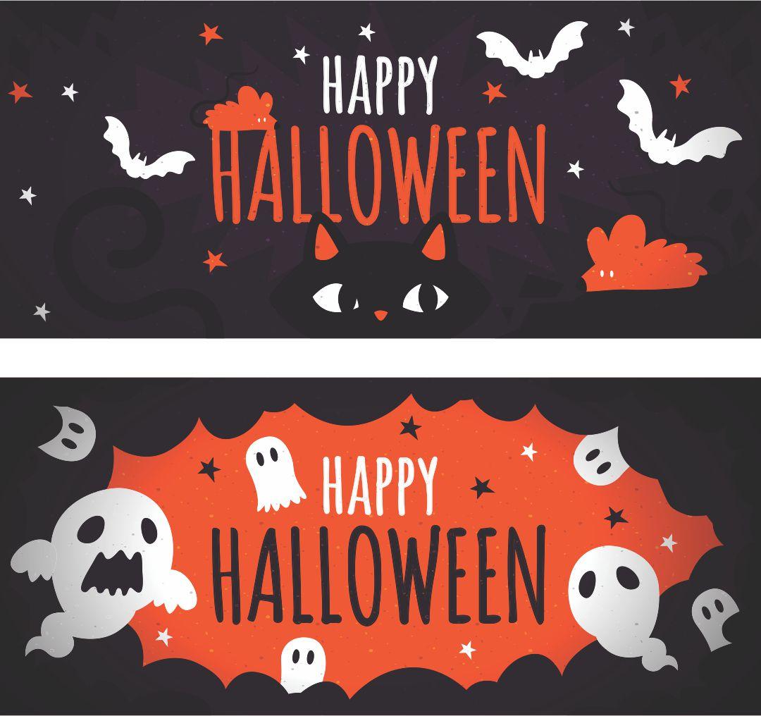 Movie Halloween Printable Banners