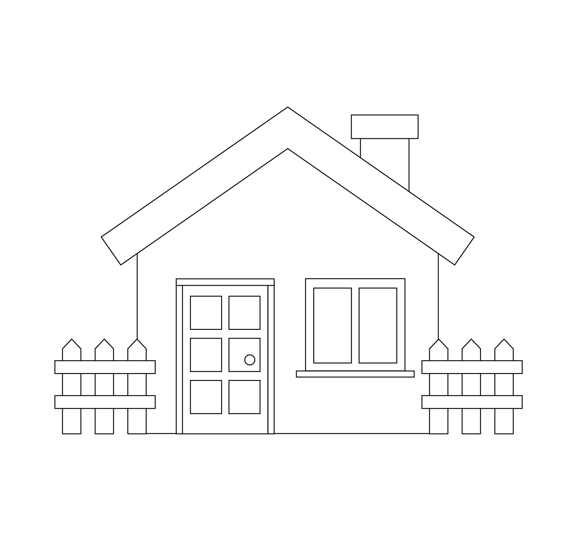 House Outline Printable