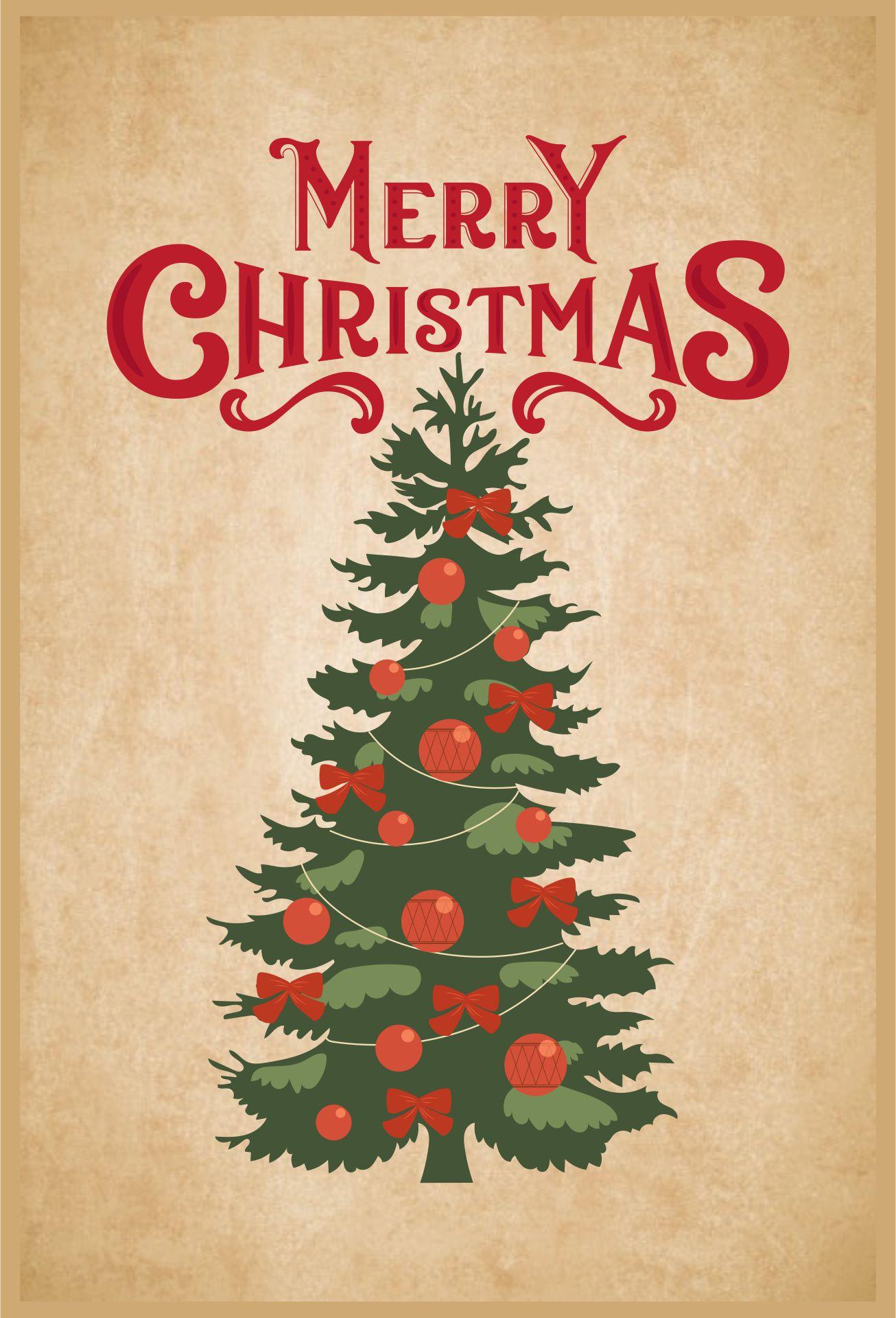 Printable Vintage Christmas Signs