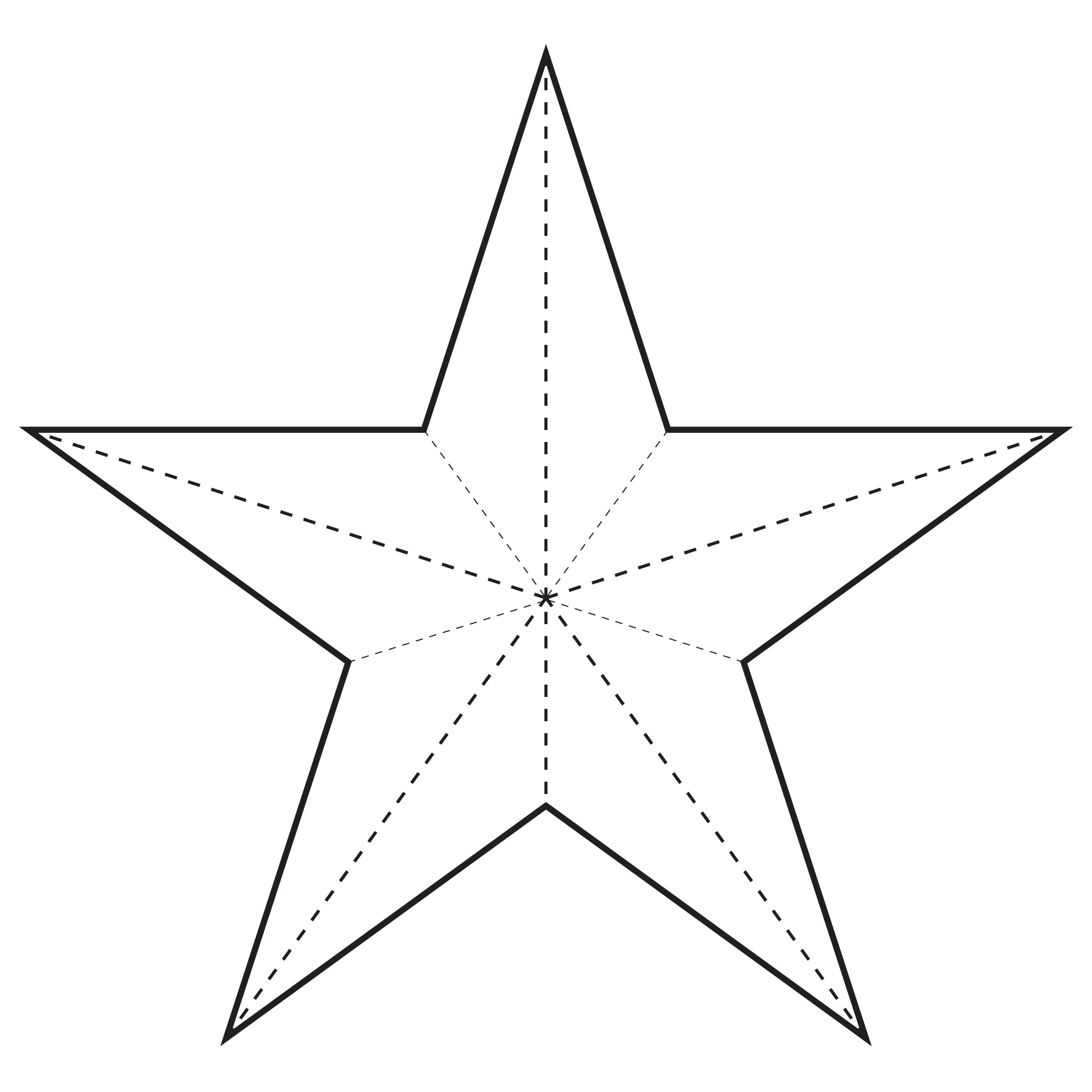 Christmas Star Template Printable