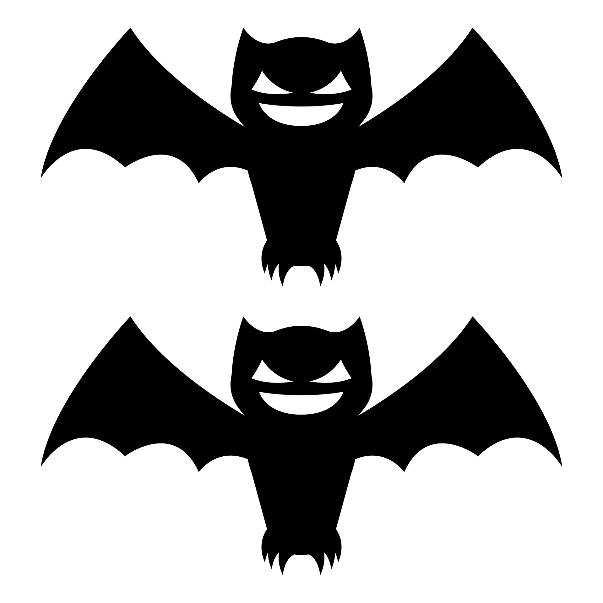 Printable Halloween Bat Template