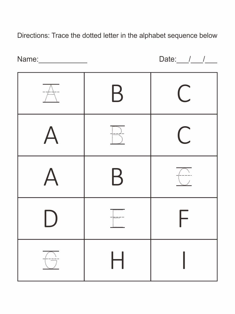 Pre-K Worksheets Packets Printable