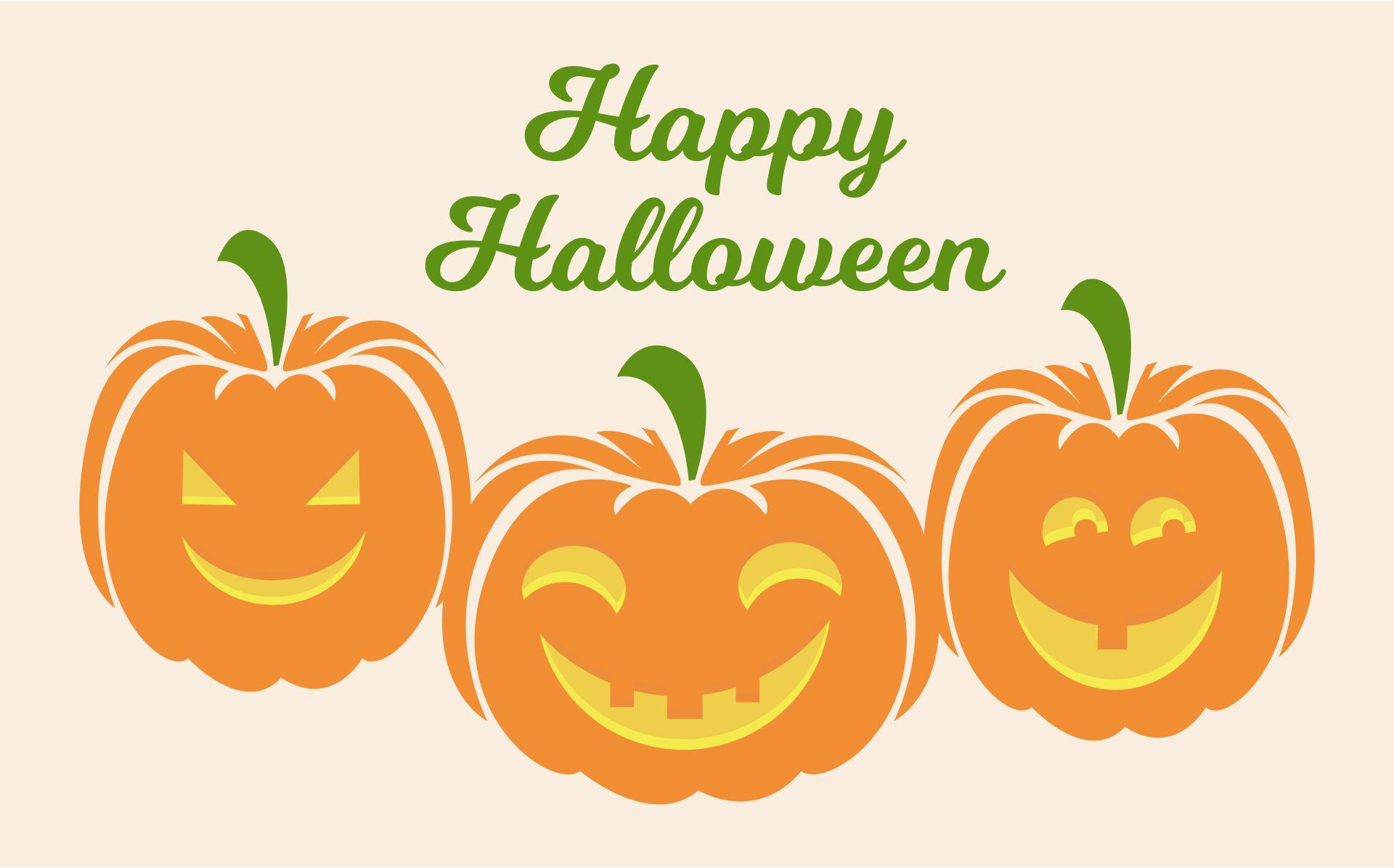 Vintage Printable Halloween Pumpkin Art
