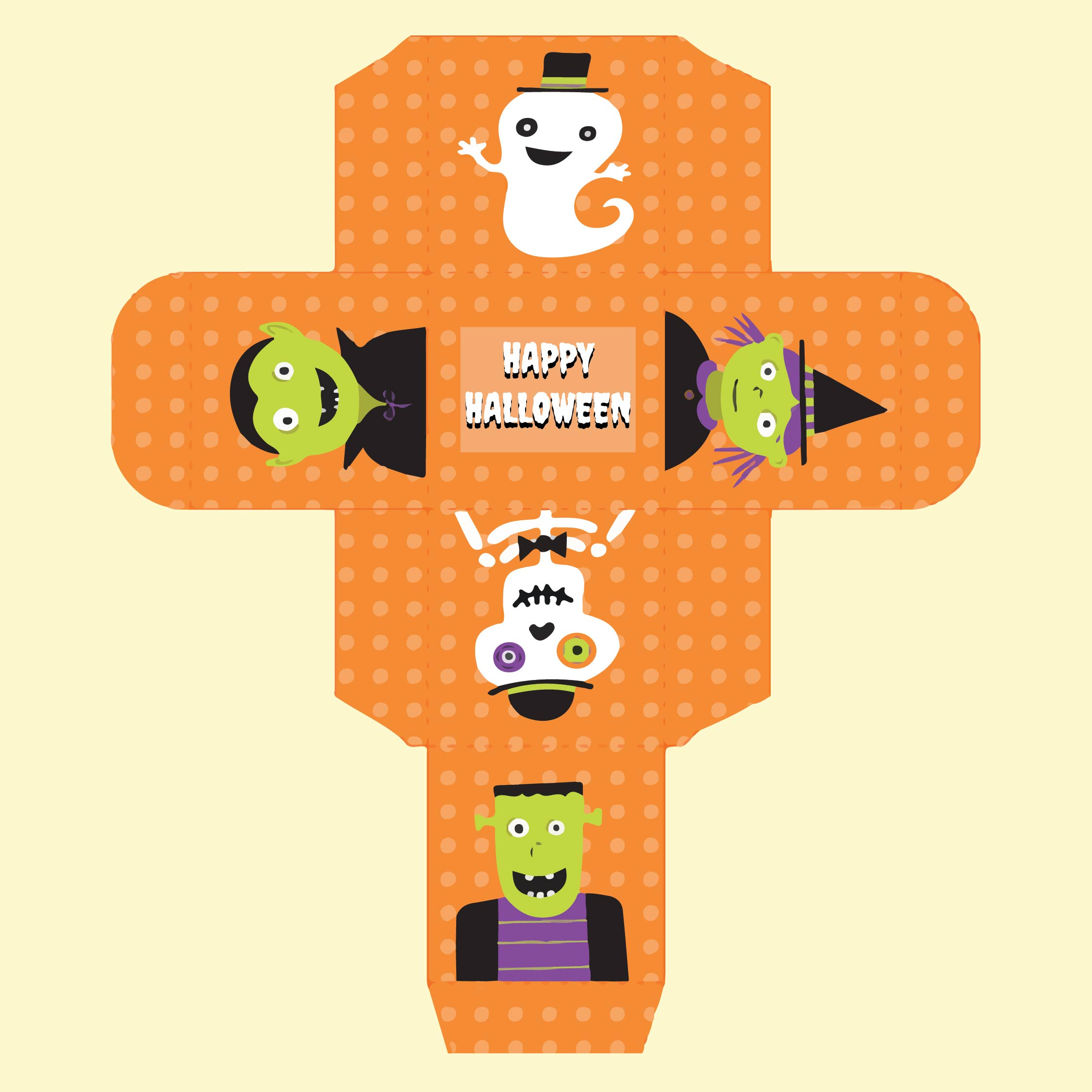 Printable Halloween Boxes