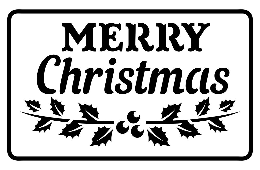 Christmas Printable Stencil Patterns