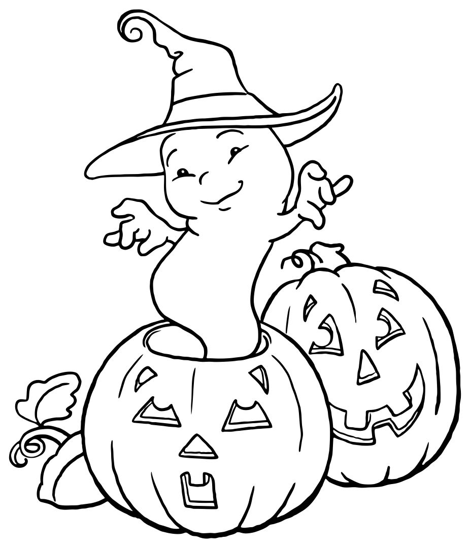5 Best Printable Halloween Coloring Pages For Adults Printablee Com
