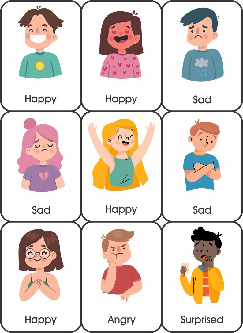 Printable Emotion Cards