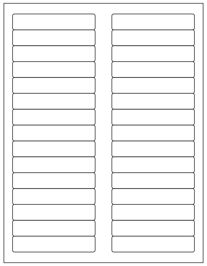 Pendaflex Printable Tab Inserts