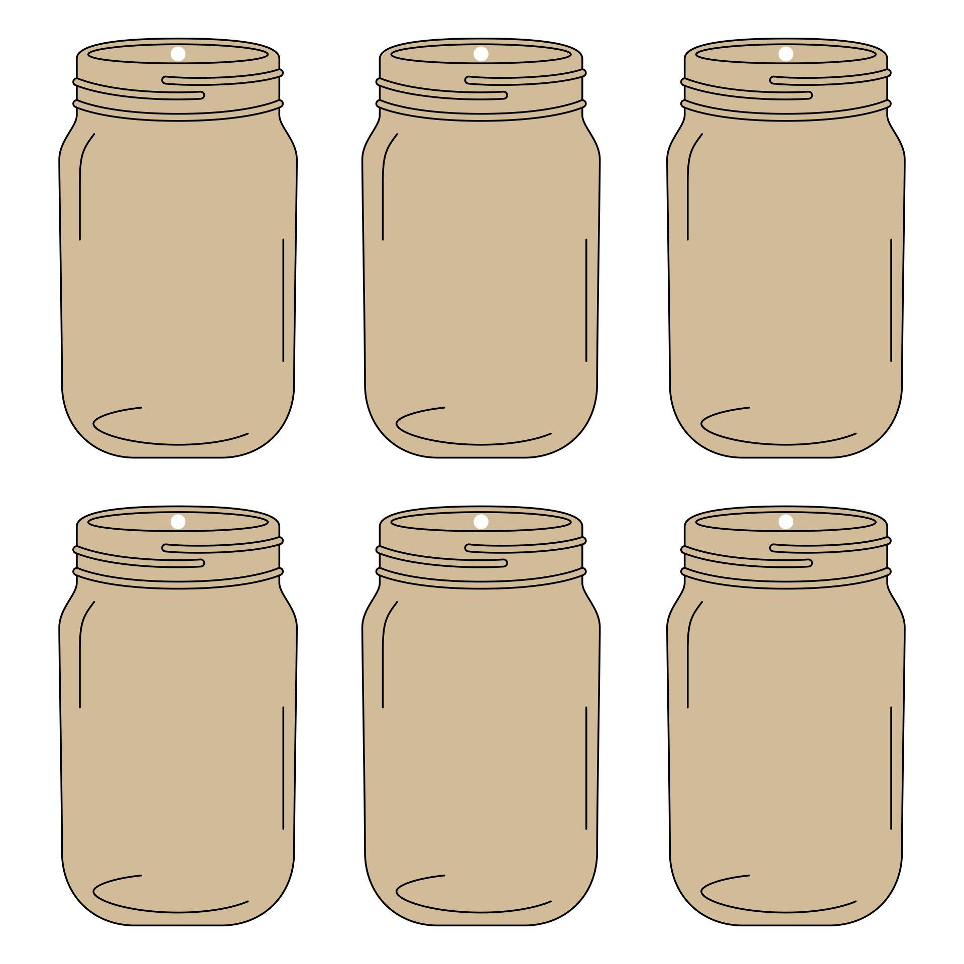 Halloween  Printable Canning Jar Label Templates