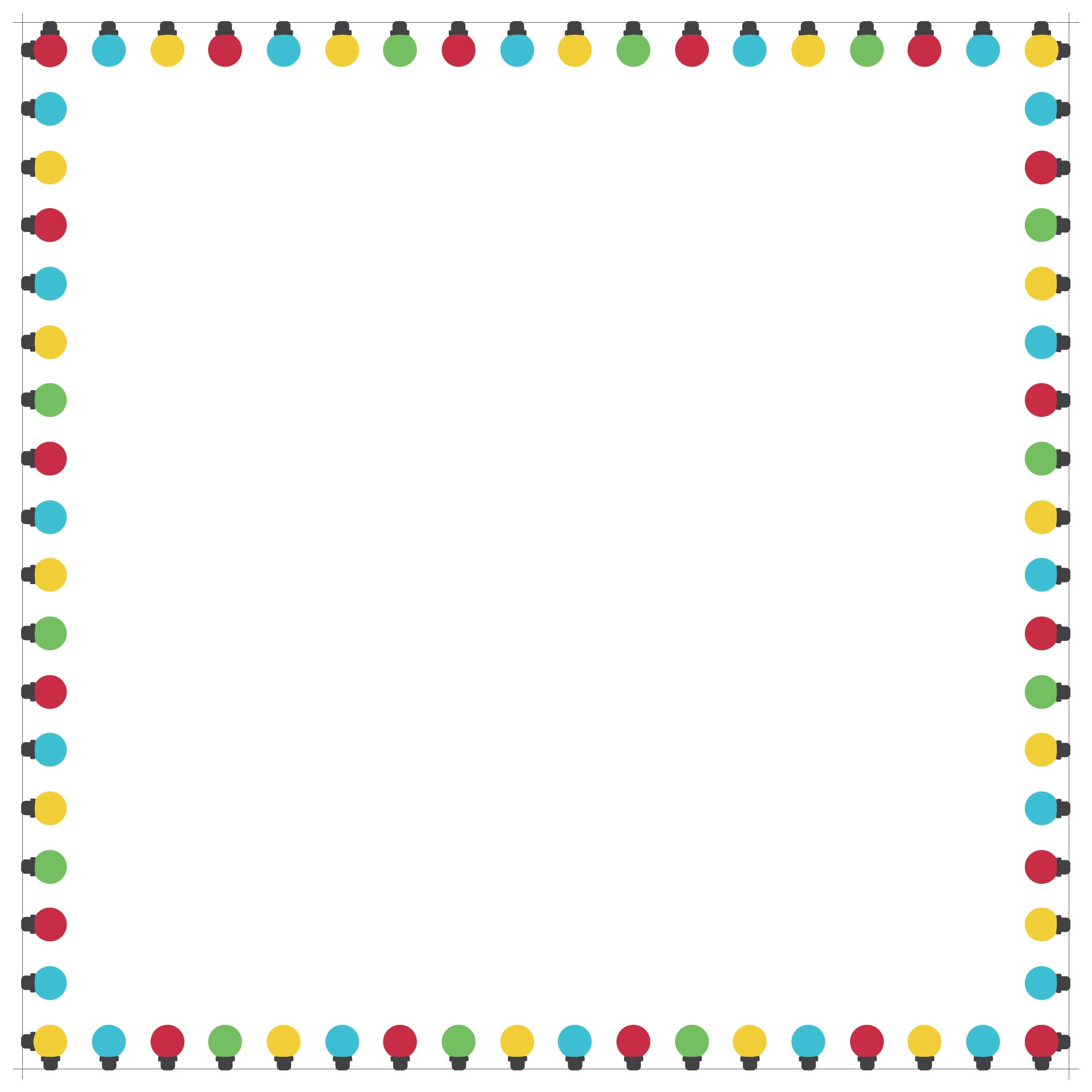 Christmas Bulletin Board Borders Printable