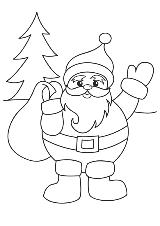 Christmas Coloring Printables