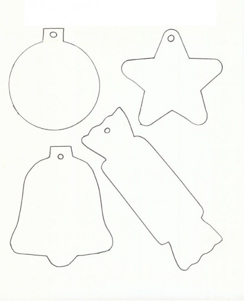 Printable Christmas Templates To Color