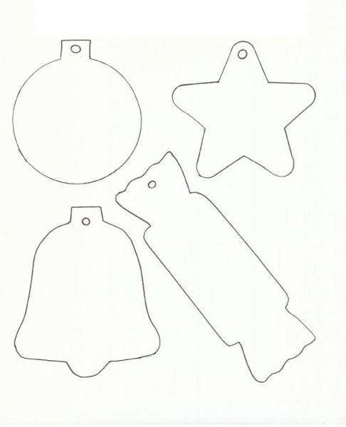Printable Christmas Templates To Color