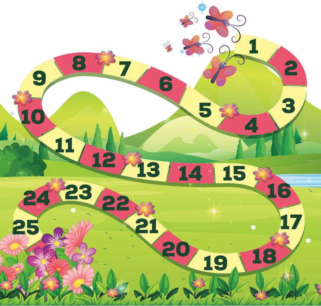 Printable Board Game Candyland