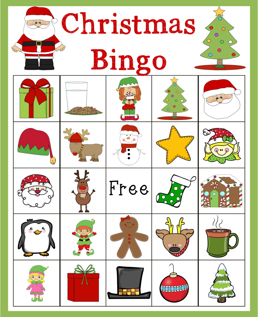 Printable Christmas Bingo Card 20