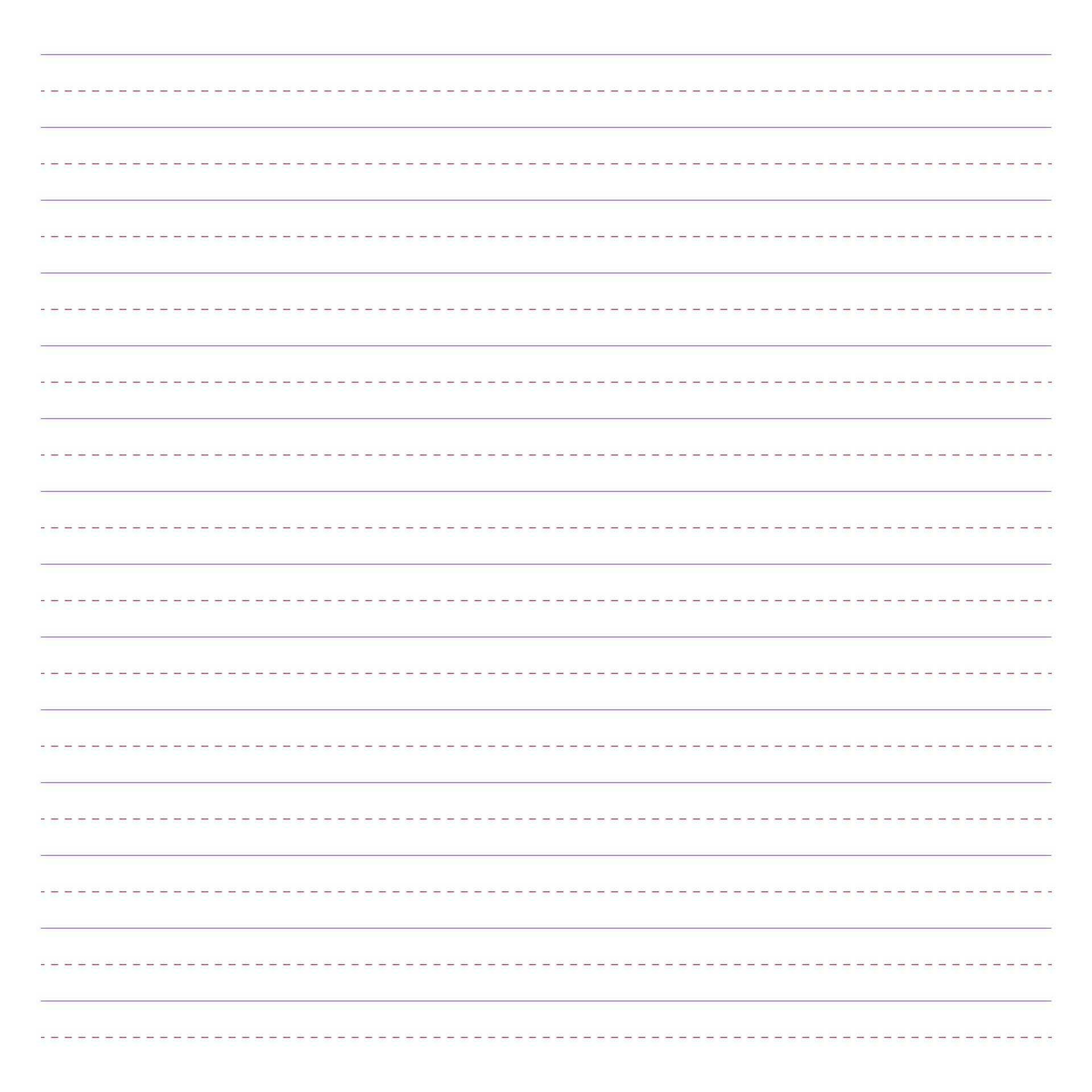 Second Grade Writing Paper Printable