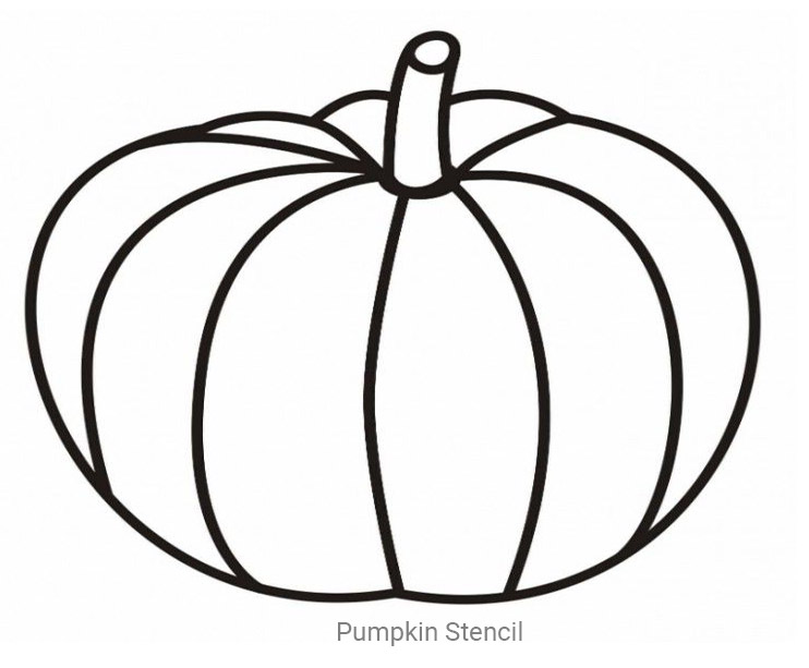 Large Printable Pumpkin Stencils
