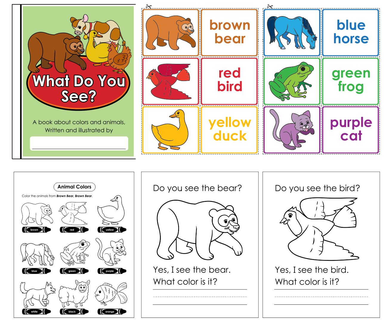 Brown Bear Brown Bear Printables