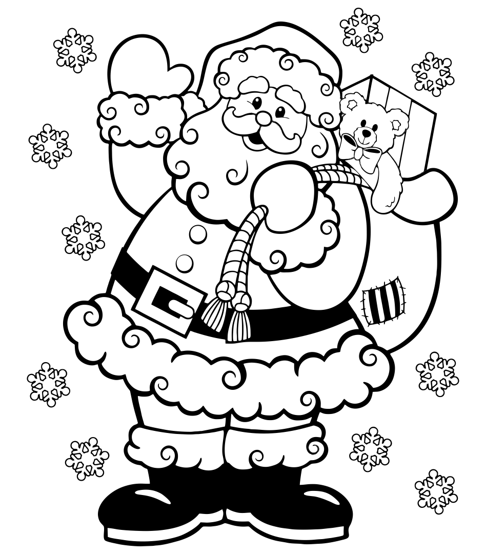 Printable Christmas Coloring Books