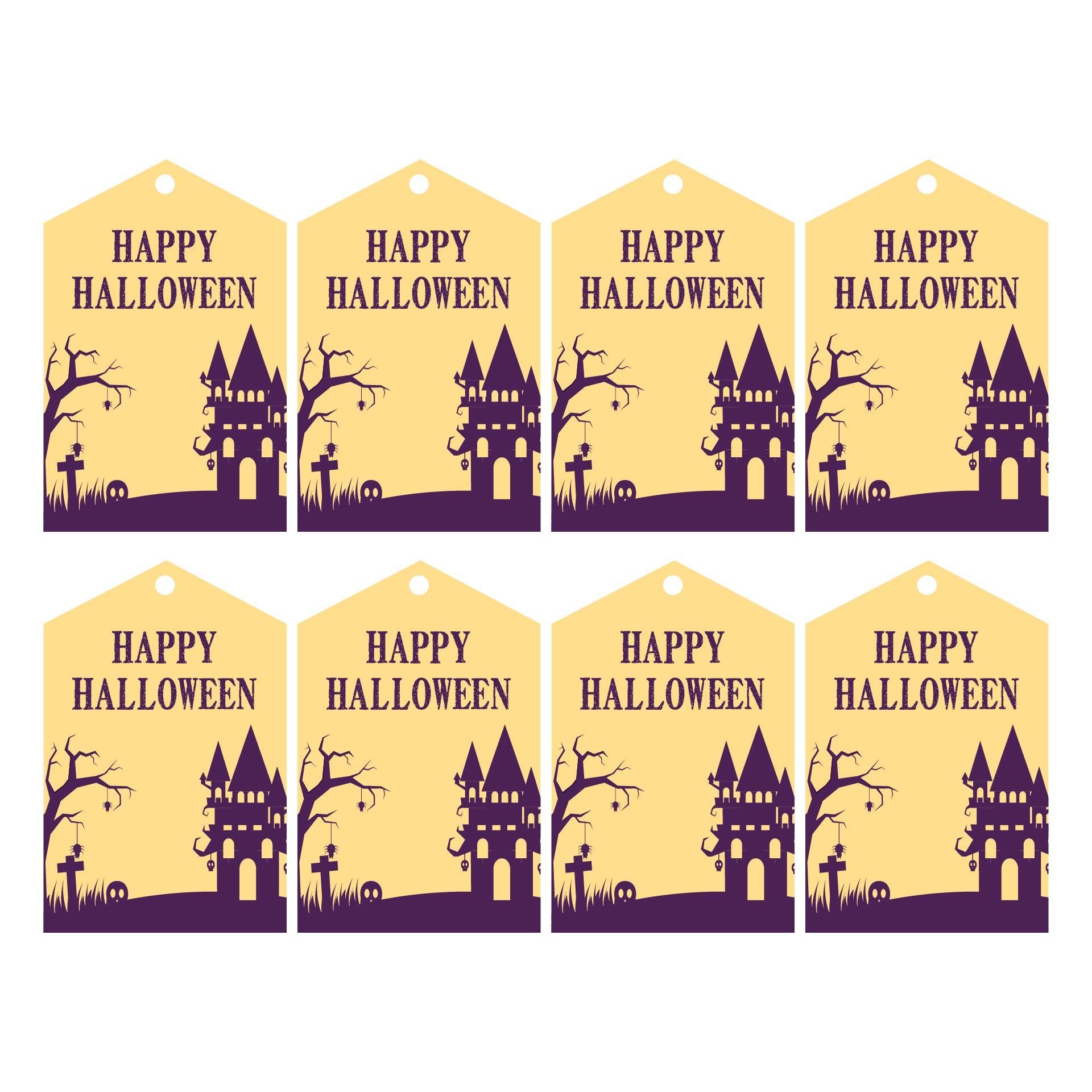 Cute Halloween Gift Tags Printable